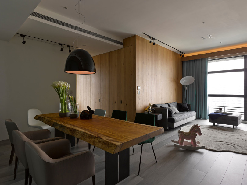 A modest home in Taipei by Ganna Design