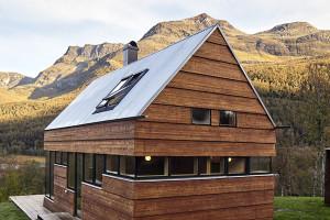 Cabin Laksvatn by Hamran/Johansen Arkitekter