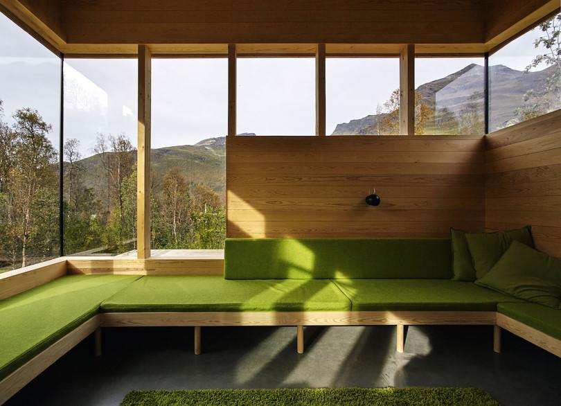 Cabin Laksvatn by Hamran Johansen Arkitekter