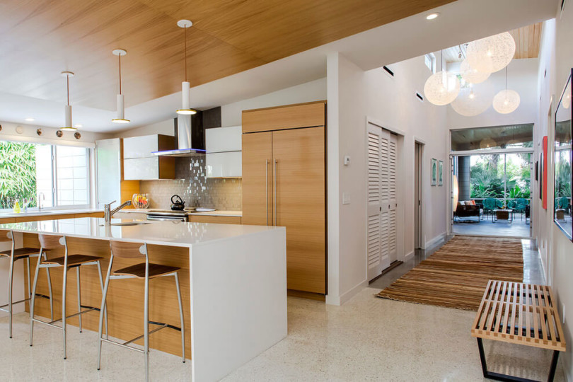 Remodeled Mid Century House by Dynan Construction Management