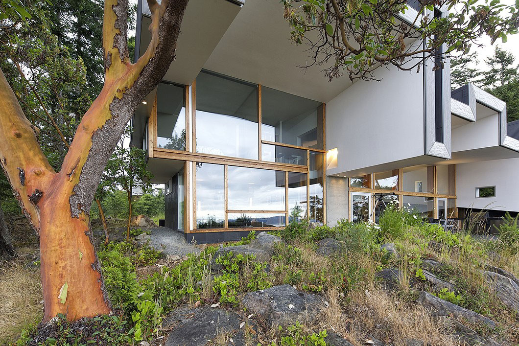 Ridge House By Marko Simcic Brian Broster Homedezen