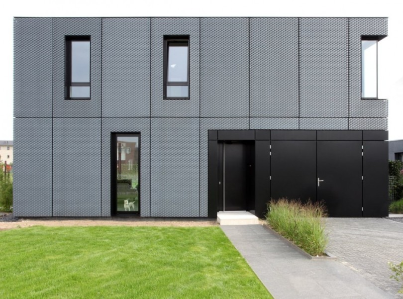 Black Aluminium Box hides bright interior