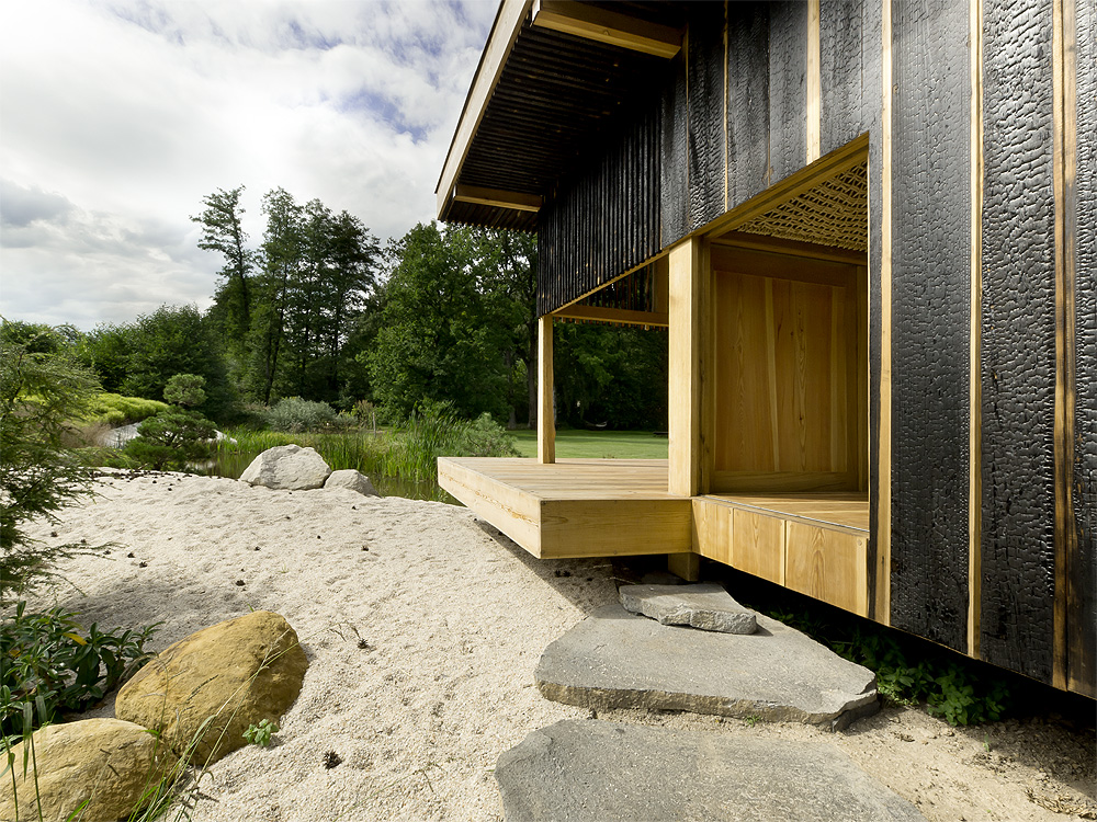 Black Teahouse By A1architects Homedezen