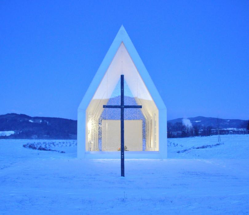 Maria Magdalena Chapel by Sacher.Locicero.Architectes