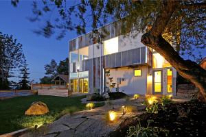 Net Zero Reclaimed Modern Home by Dwell Development
