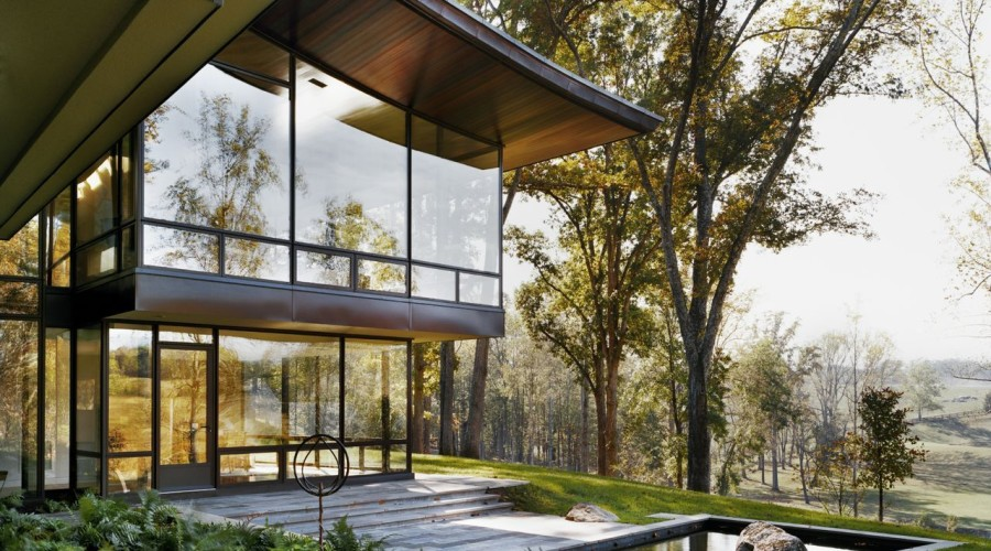 Blue Ridge Residence by Voorsanger Architects