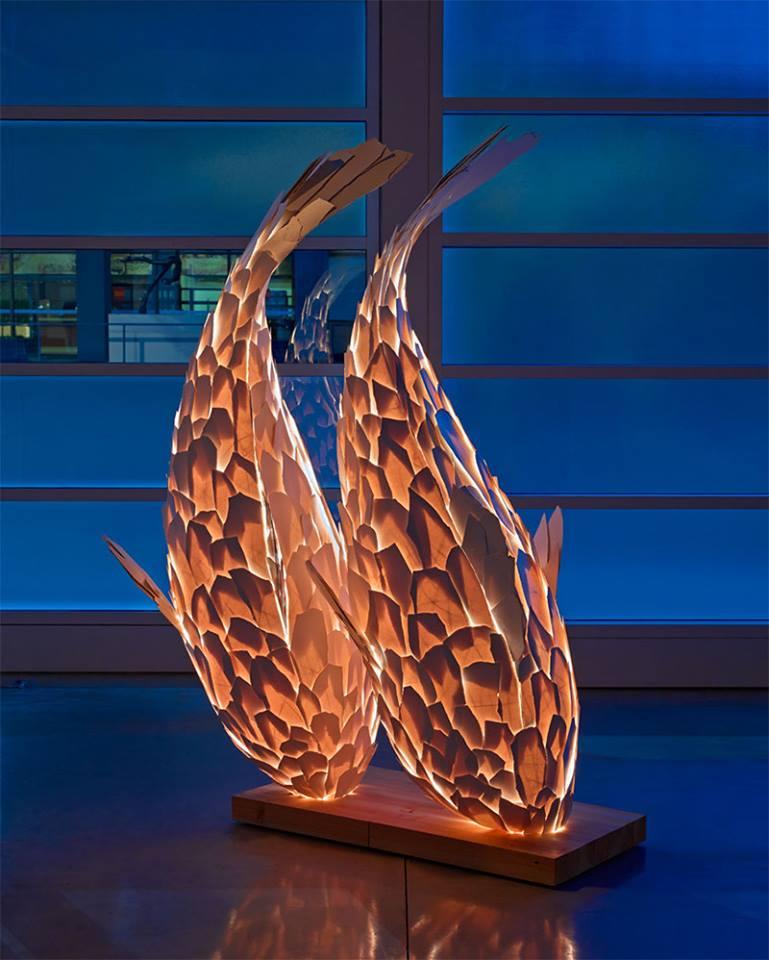 Fish Lamps