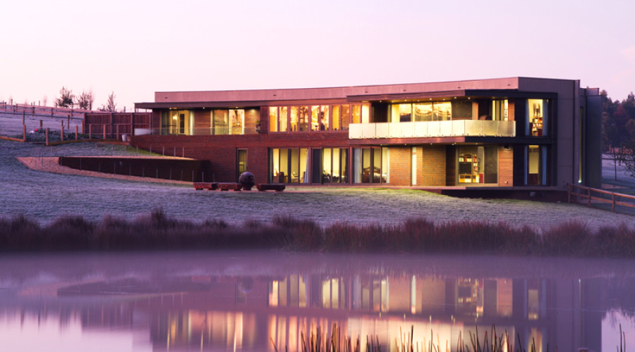 Ramp House by Architects Corner