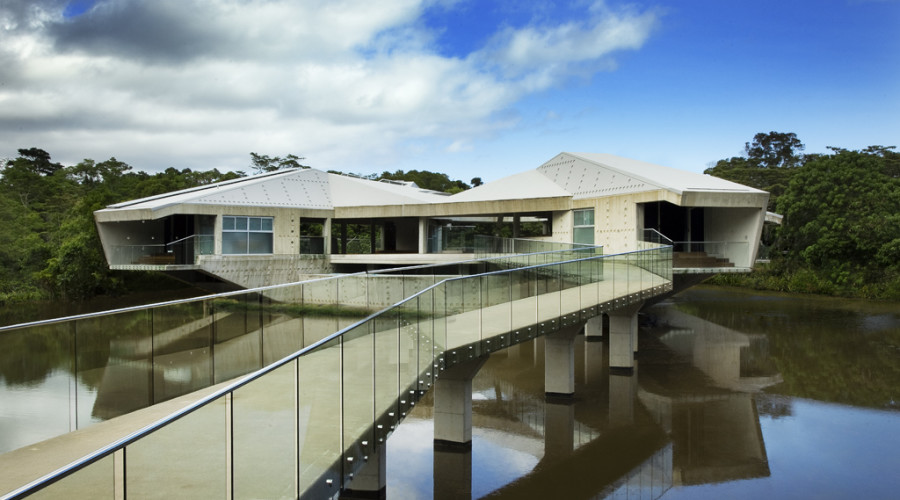 Stamp House by Charles Wright Architects